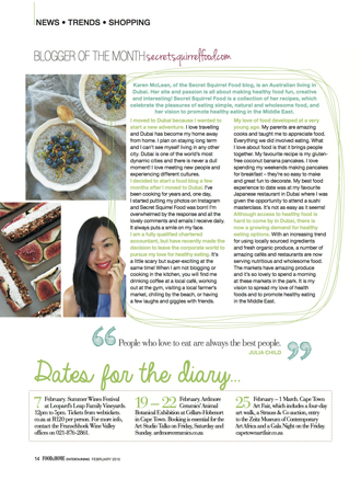 Food & Home Mag - Feb'15 Issue, Page 17