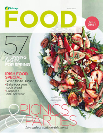 Spinneys Food Mag - Mar'14 Cover Page